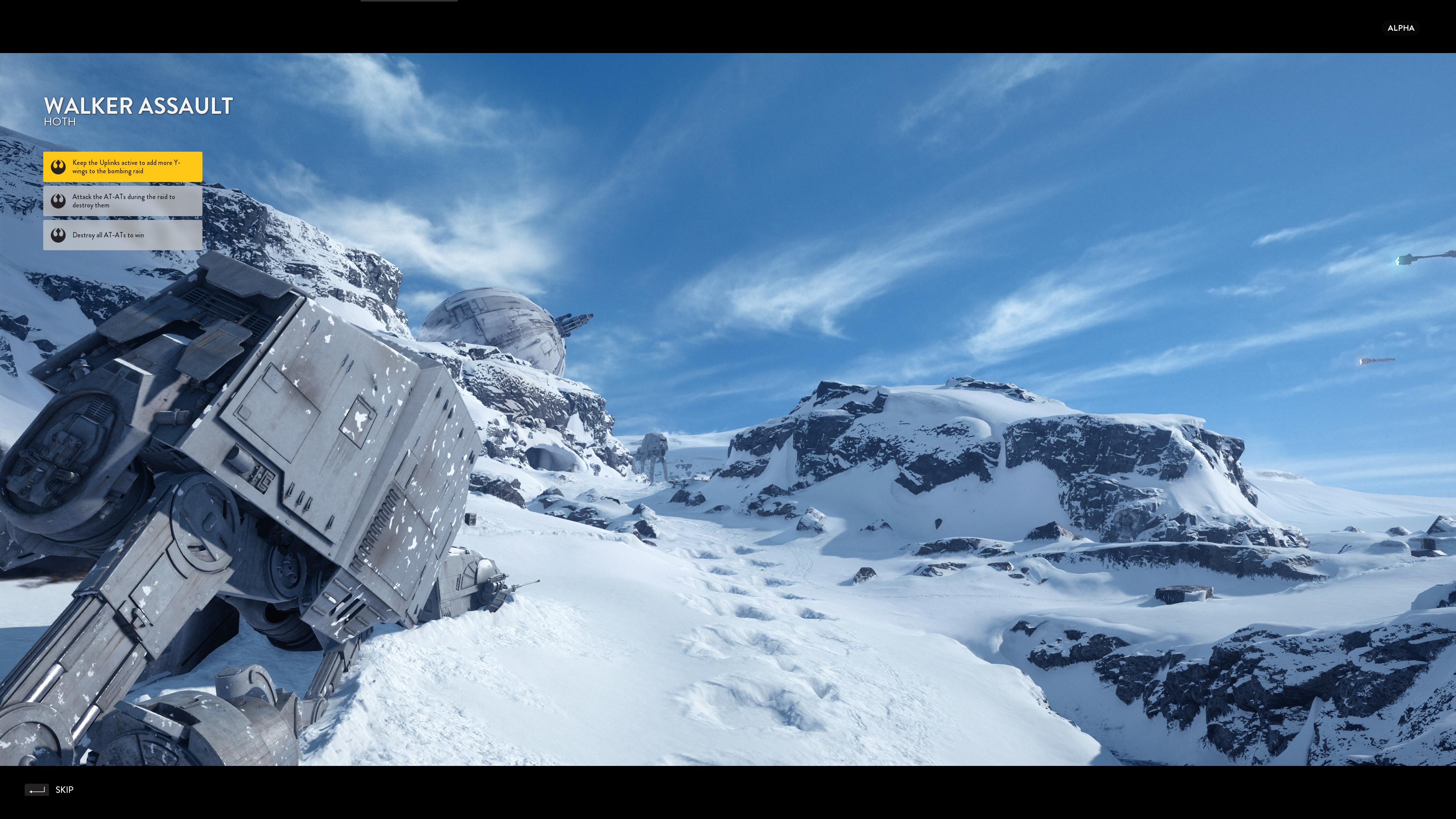 star wars battlefront 4k pc screens show multiplayer on. Black Bedroom Furniture Sets. Home Design Ideas