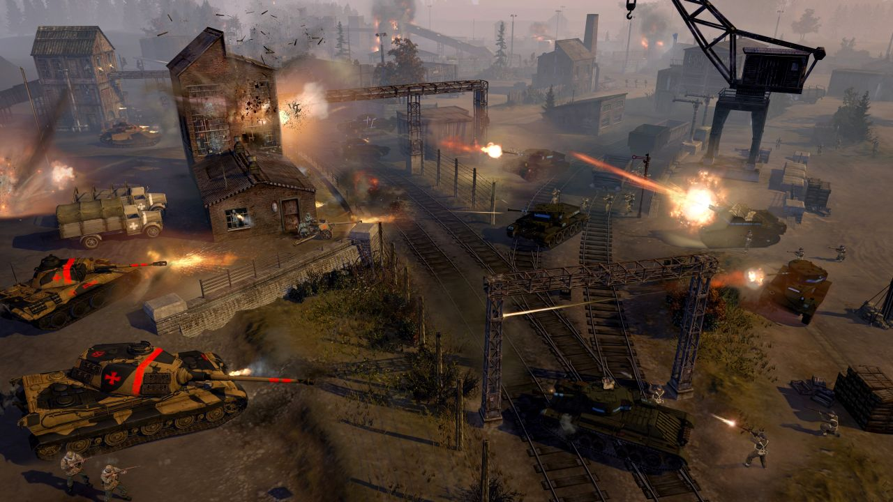 the british forces are coming to company of heroes 2 vg247. Black Bedroom Furniture Sets. Home Design Ideas
