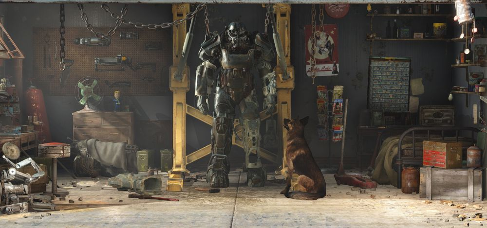 Fallout 4 garage new for Garage new s villejuif