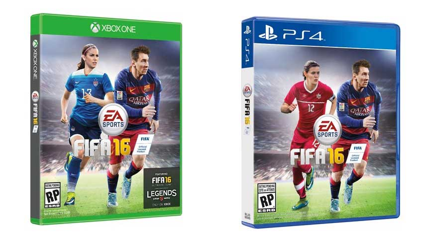 Australia, Canada and US FIFA 16 covers acknowledge existence of women ...