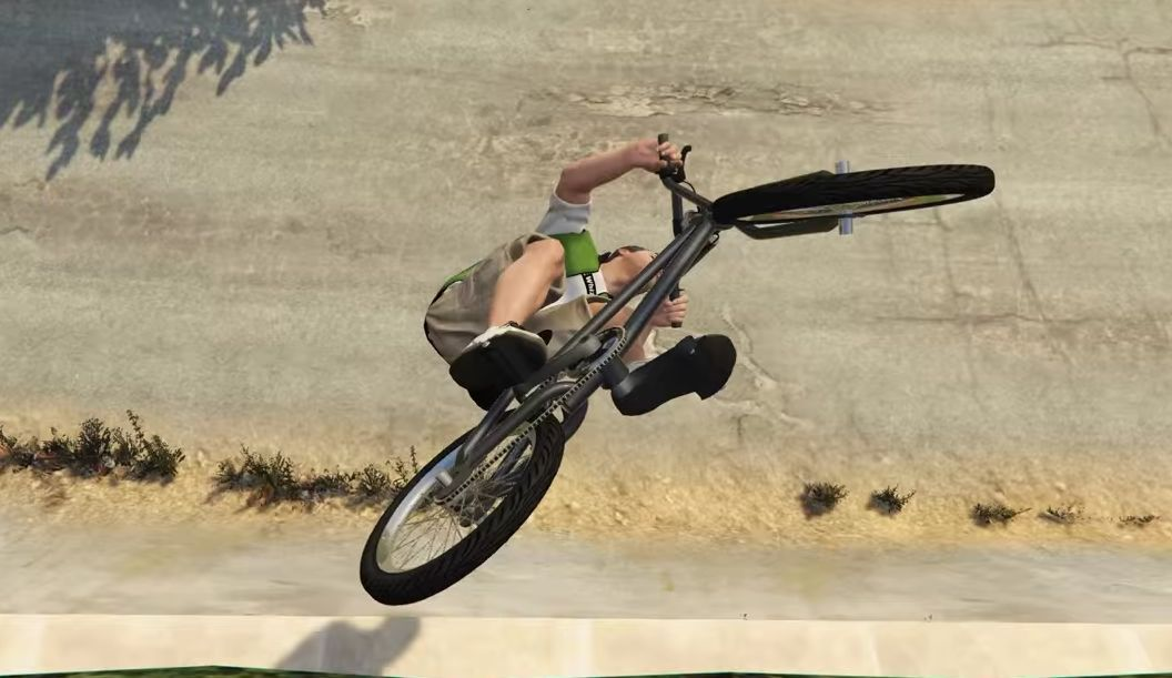 GTA 5 BMX Bike Stunts video is full of super moves ...