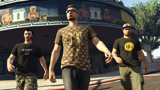how to play missions with friends gta online
