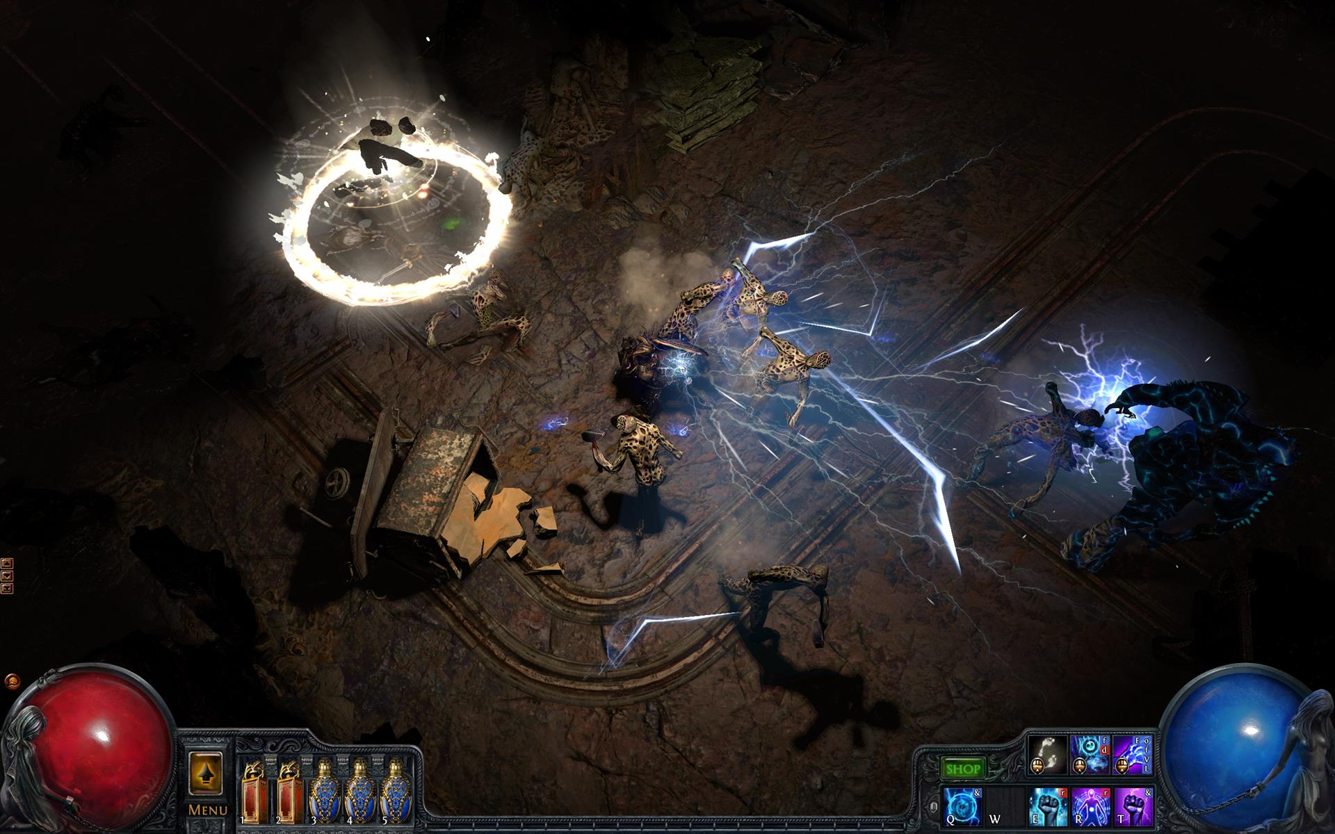 Path of exile ui skins
