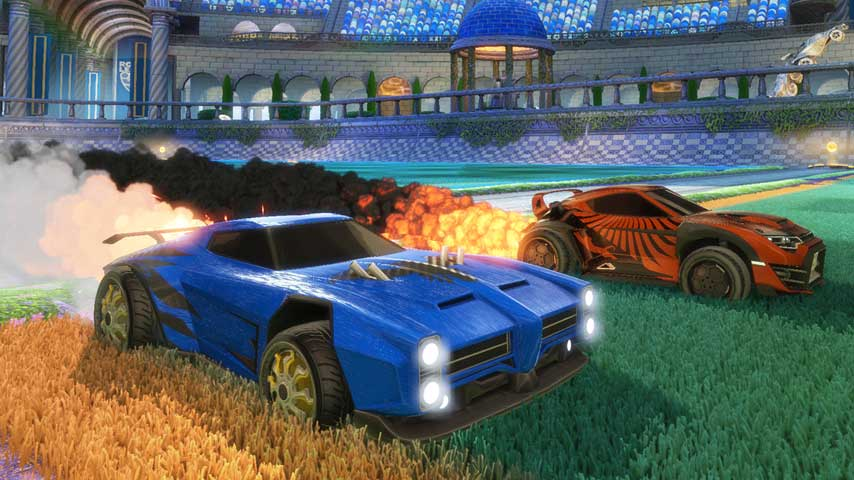 how to add packs rocket league trainer