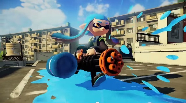 Splatoon Gets New Level Cap Weapons And Modes August 6