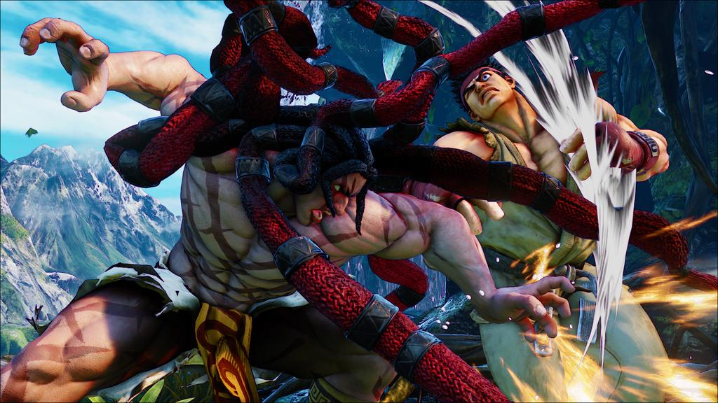 All New Street Fighter 5 Character Necalli Revealed At Evo