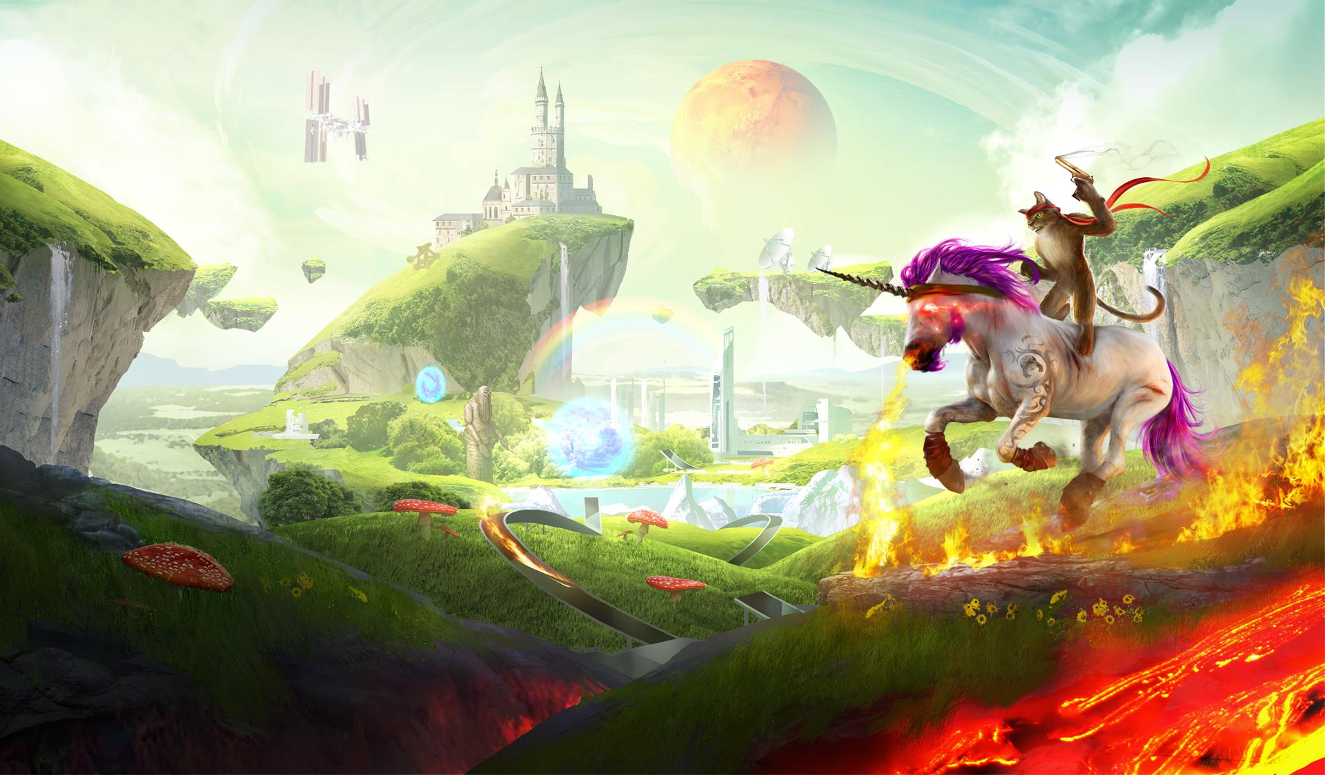 trials fusion awesome level max trailer delivers unicorn