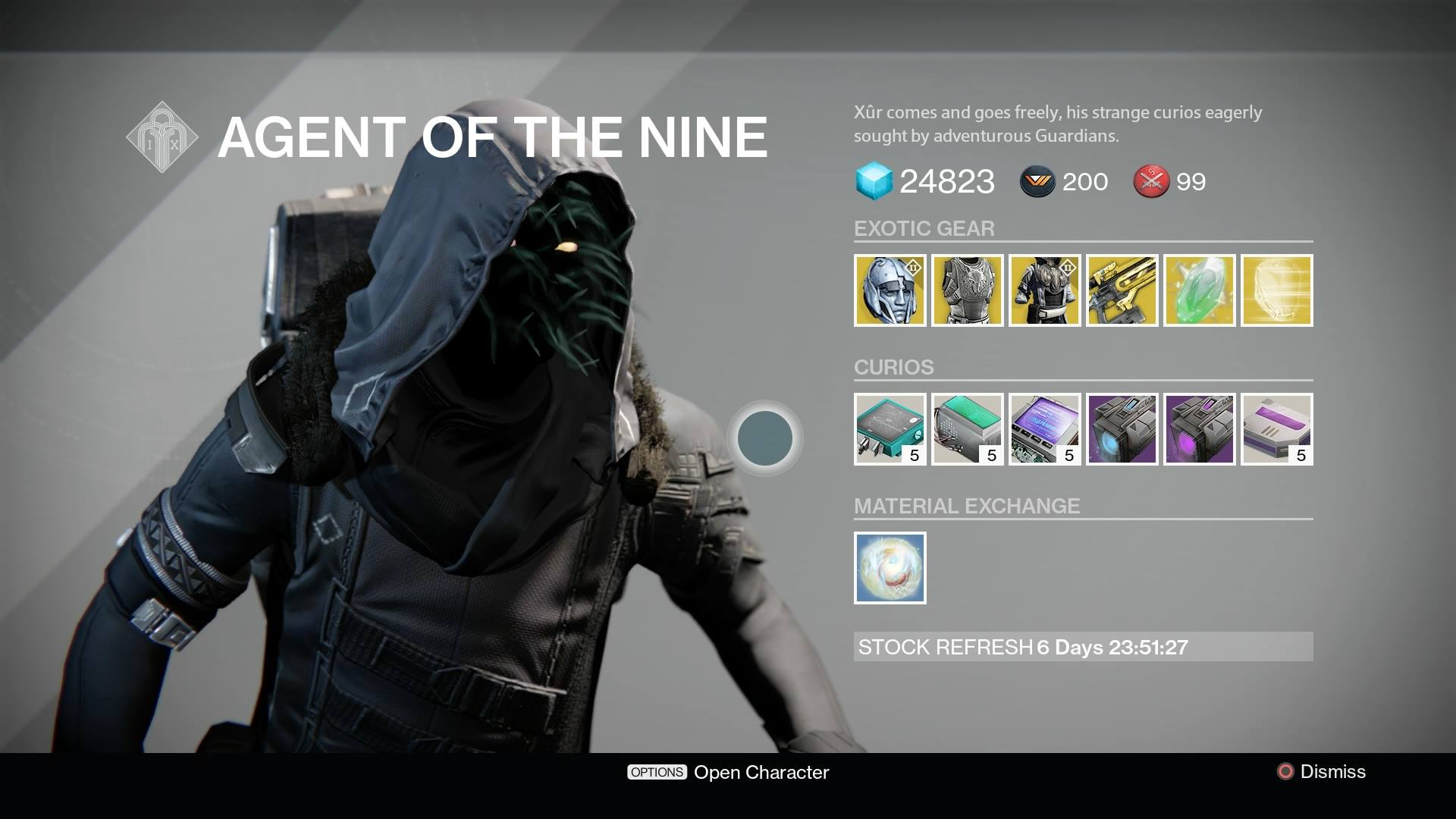 Plan A Road Trip >> Destiny: Xur location and inventory for July 10, 11 - VG247