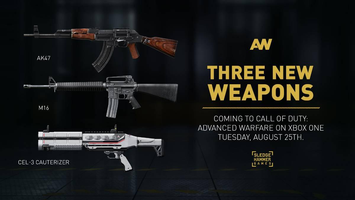Shotgun come to call of duty advanced warfare multiplayer vg247