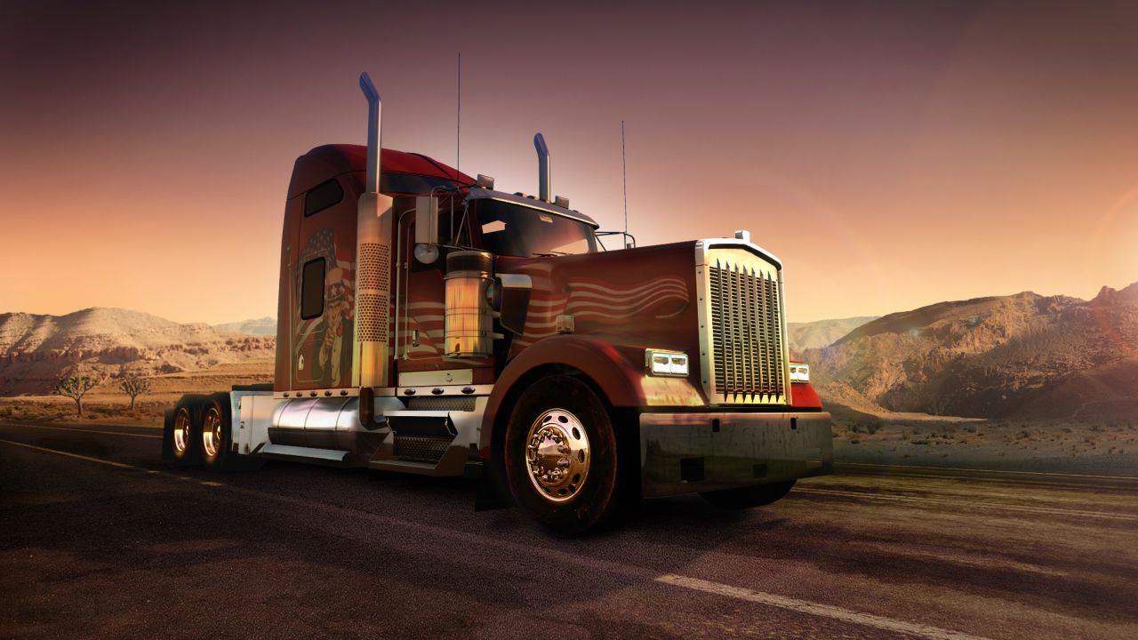 drive across the us and see famous landmarks with american truck simulator vg247. Black Bedroom Furniture Sets. Home Design Ideas