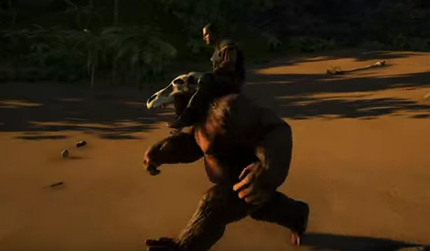 Tame your very own gigantopithecus in ark survival evolved vg247