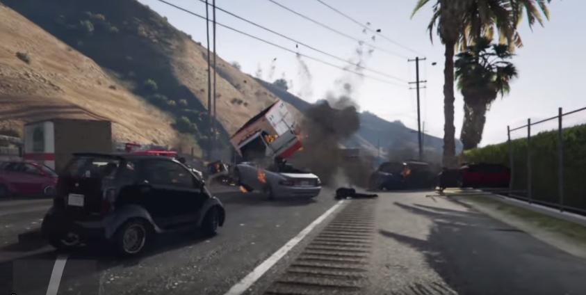 Gta  Car Crashes