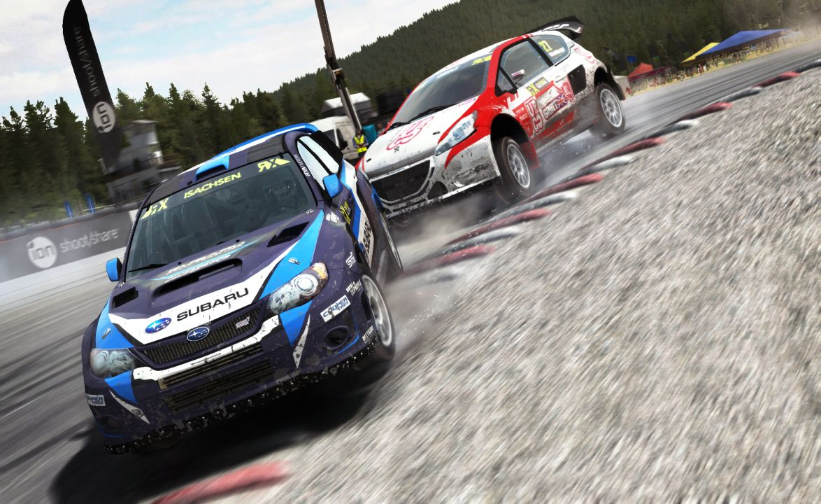 multiplayer rallycross mode added to dirt rally early. Black Bedroom Furniture Sets. Home Design Ideas