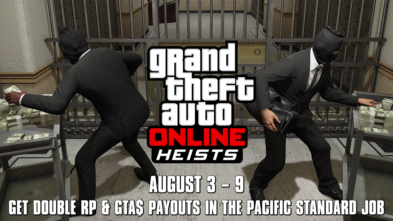 how to start the pacific standard heist