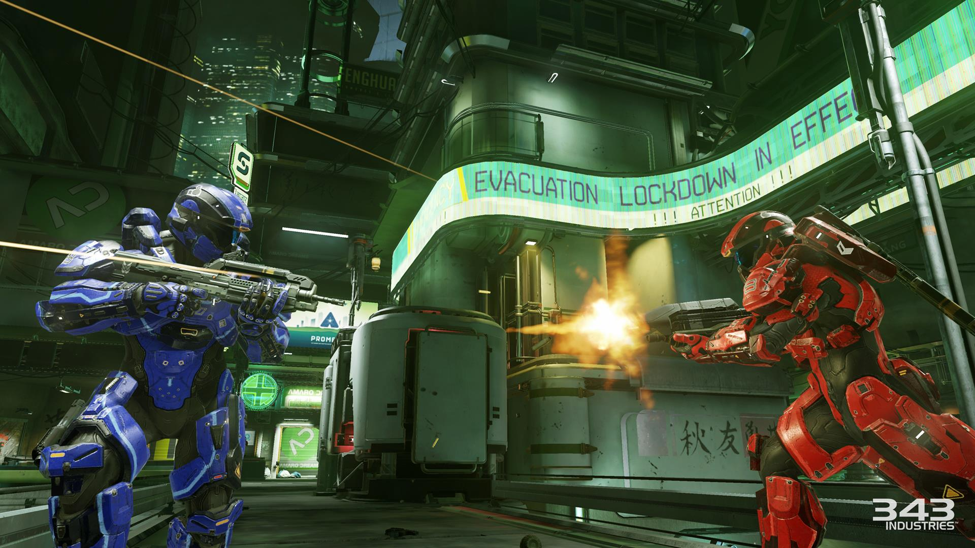 These are the Multiplayer Playlists available at launch for Halo 5