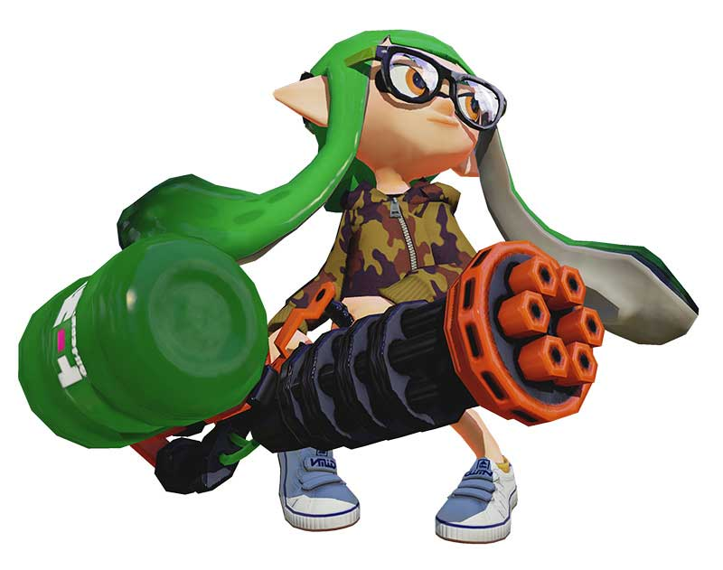 Splatoon august update adds new play modes and weapons increases