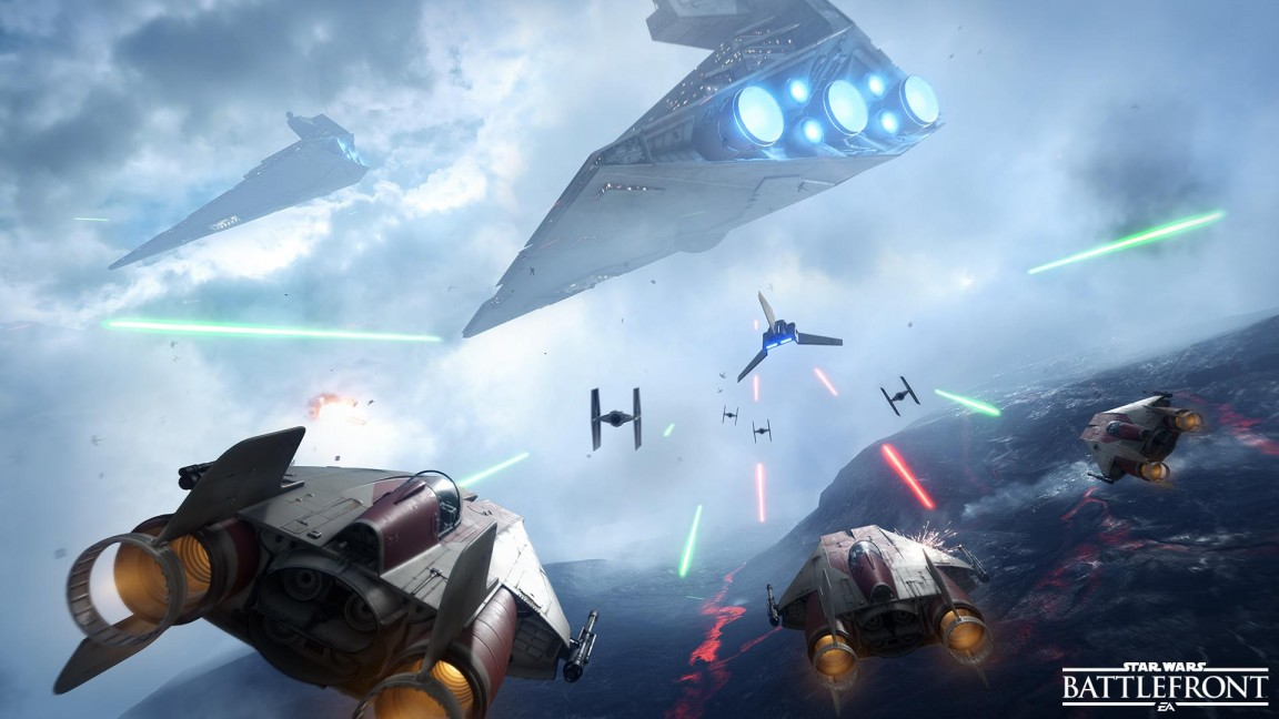 star wars battlefront ps4 review youtube