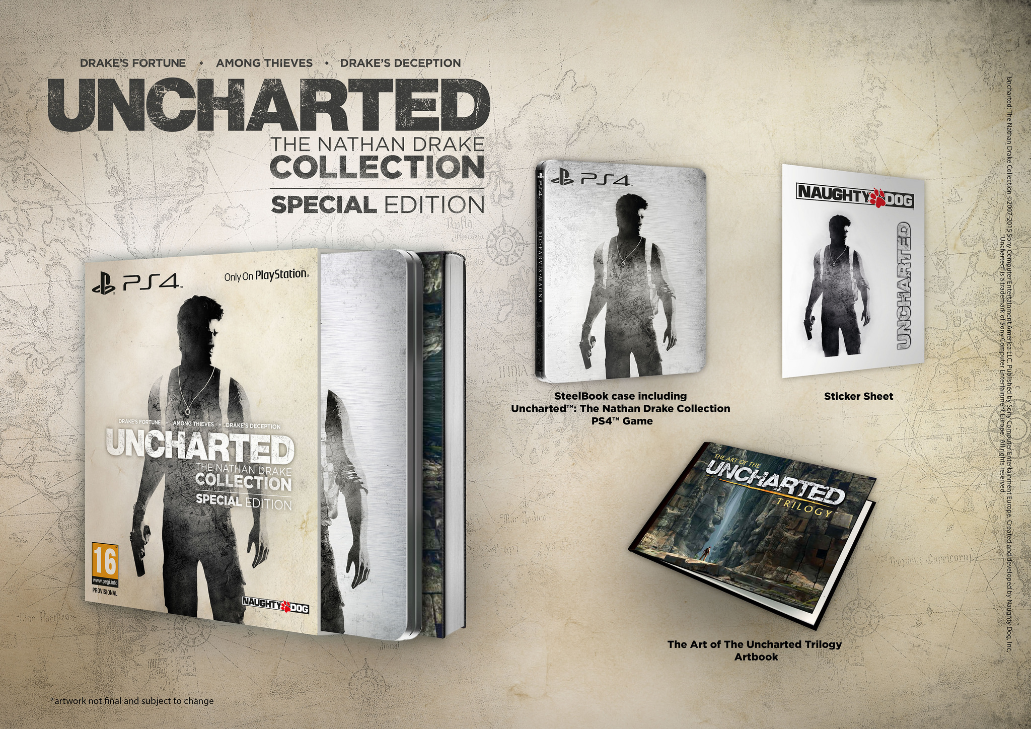 Every single pokemon picture every single pokemon wallpaper - Uncharted The Nathan Drake Collection Special Edition