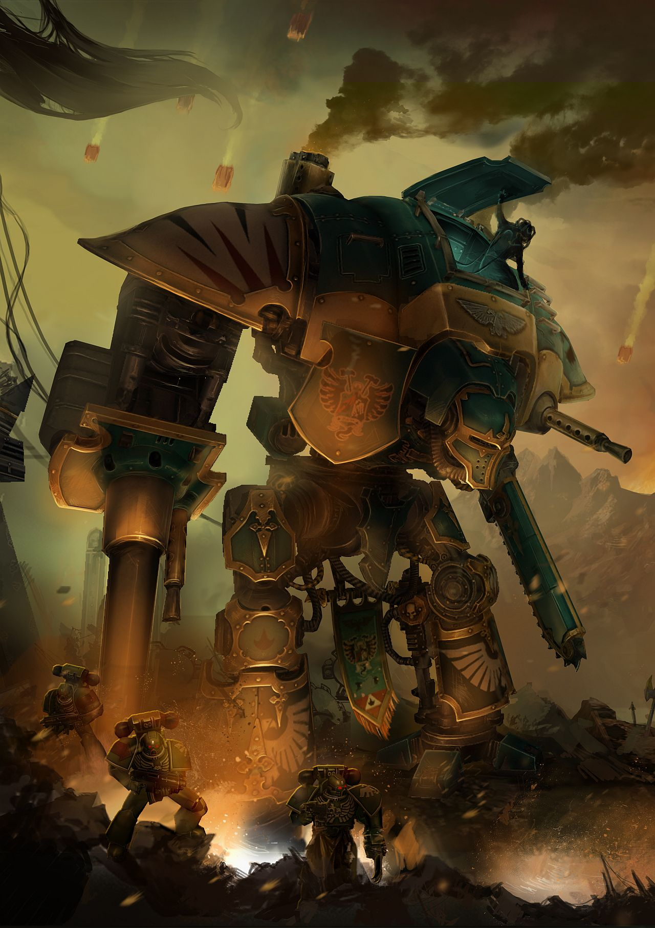 Tap-to-shoot Warhammer 40,000: Freeblade lets you play as ...
