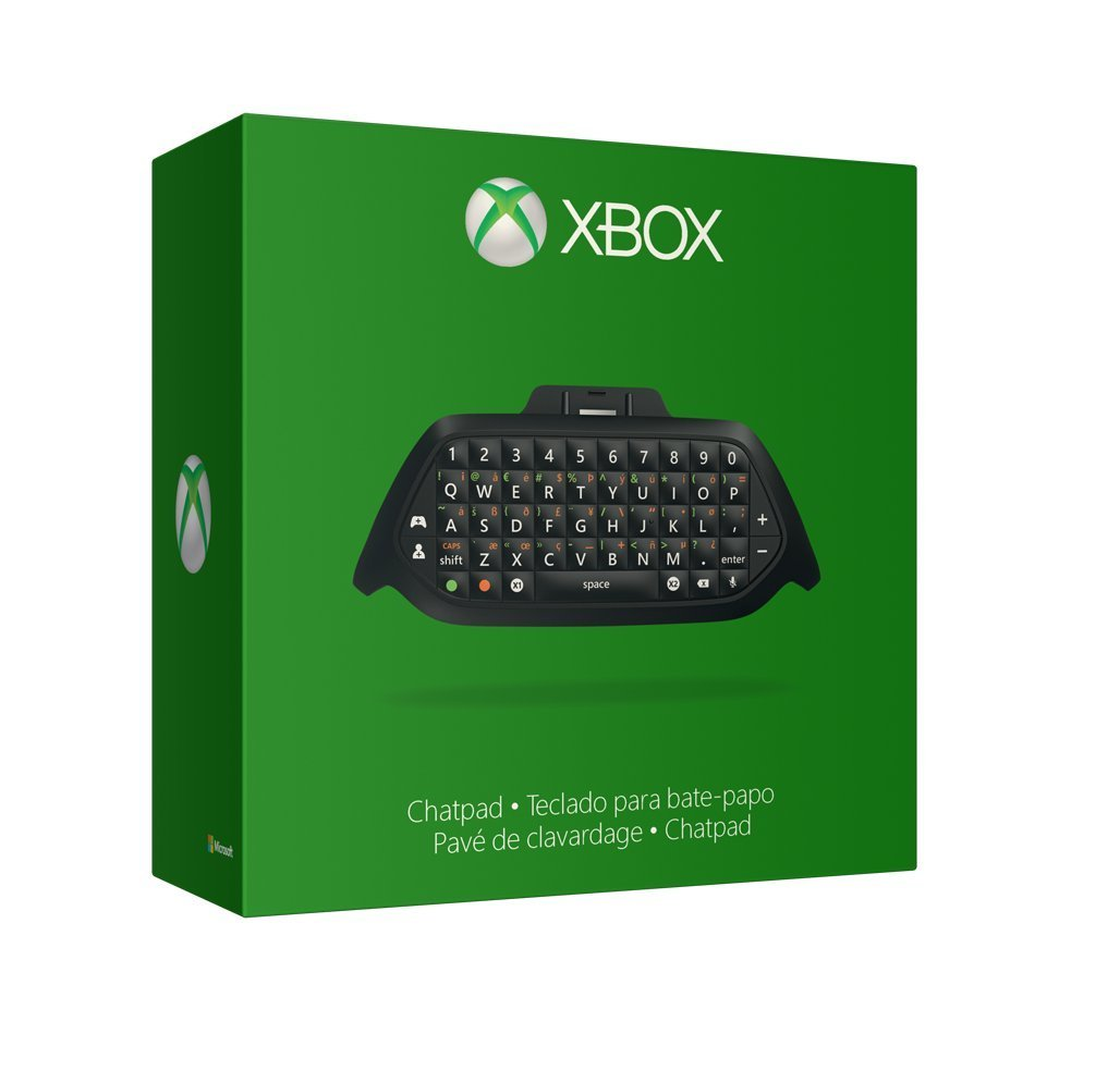 Xbox One Chat Pad on Xbox Live 3 Month Free Code