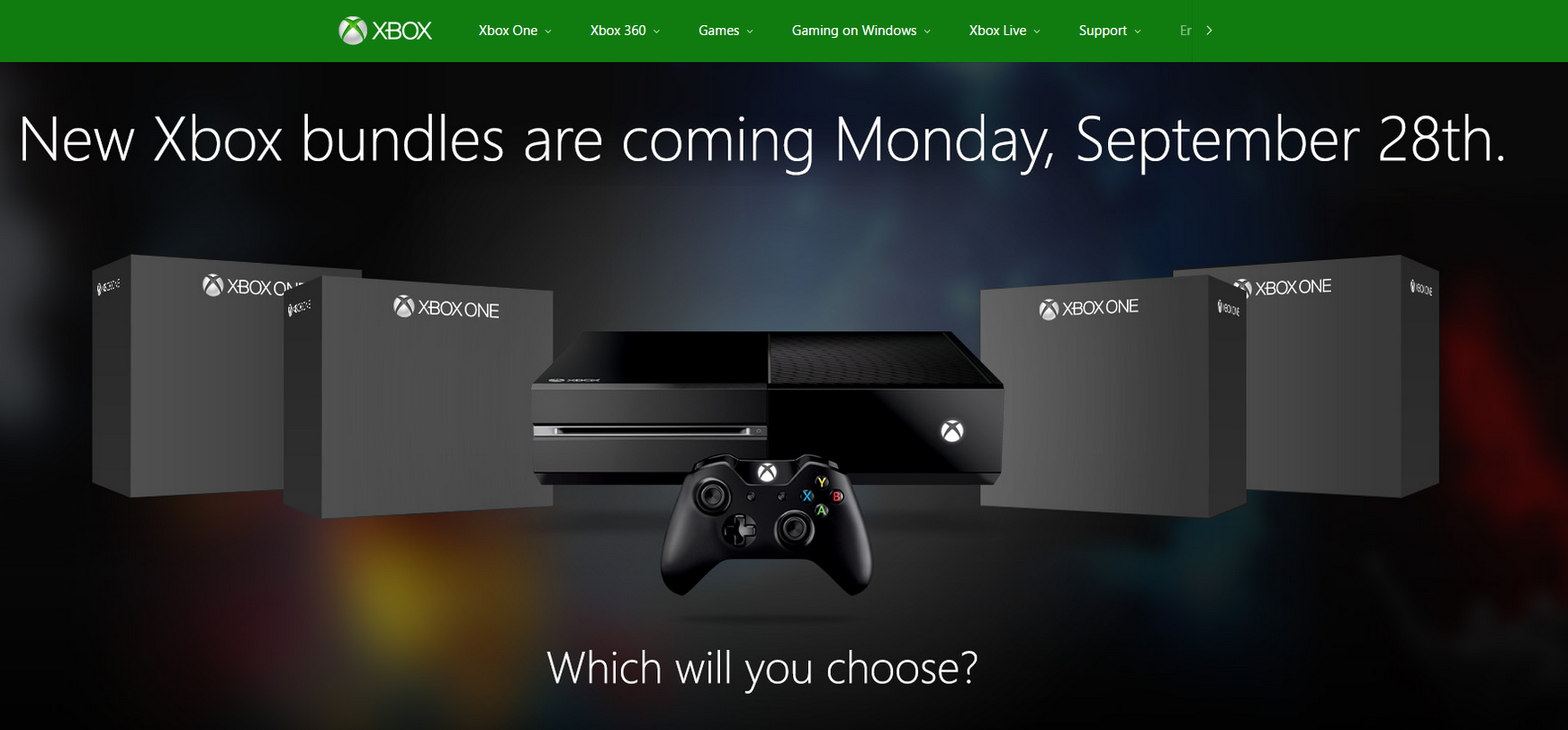 Mysterious new Xbox One bundles to be revealed next week ...