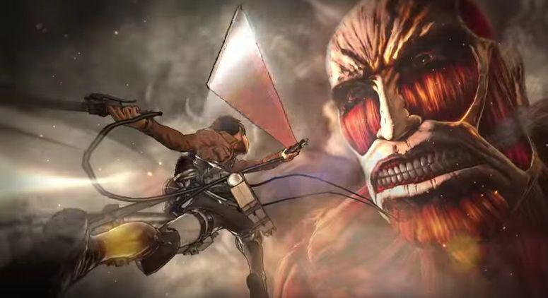 Attack on titan video game release date in Melbourne