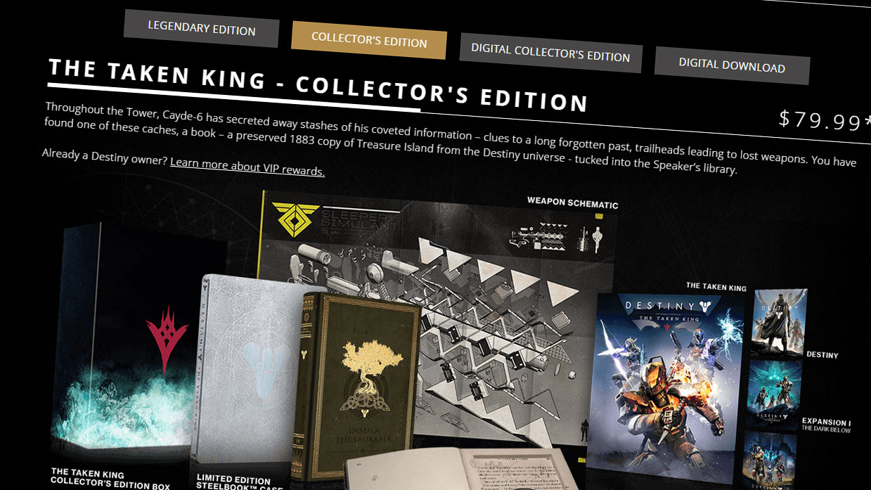 Destiny the taken king which edition should you buy vg247