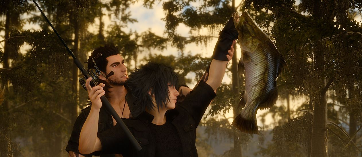 Final fantasy 15 video shows dev team scouting real world for Final fantasy 15 fishing guide