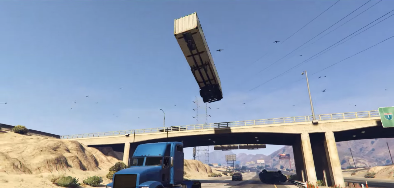 This GTA 5 C4 mod lets you perform incredible stunts - VG247