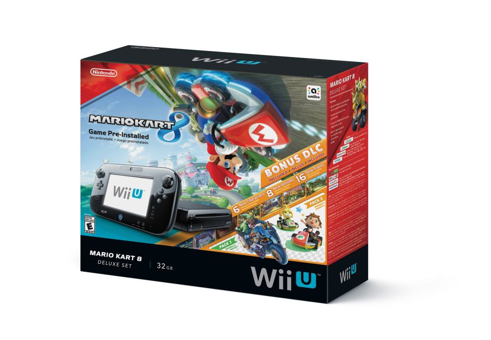 mario kart 8 wii u bundle is now better with dlc vg247. Black Bedroom Furniture Sets. Home Design Ideas