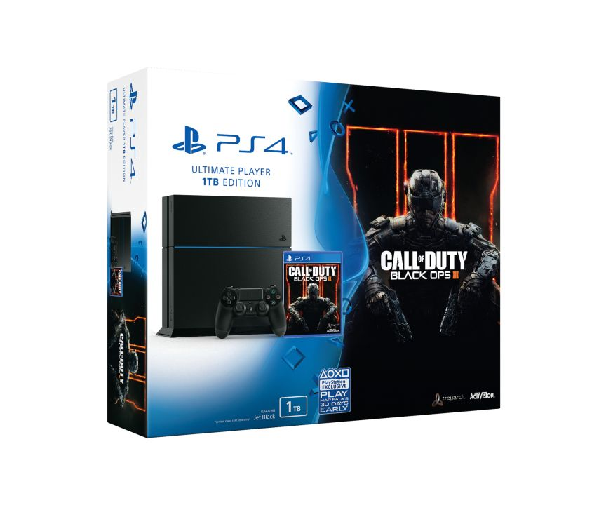 1tb ps4 call of duty black ops 3 limited edition bundle. Black Bedroom Furniture Sets. Home Design Ideas