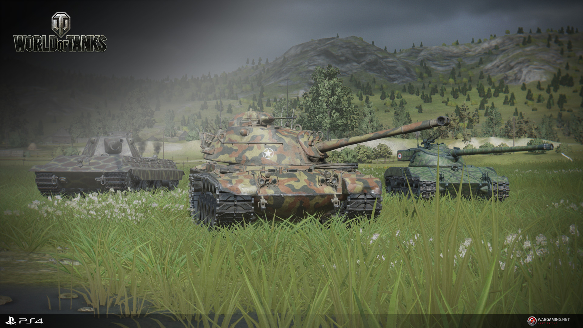 World of tanks ps4 release date
