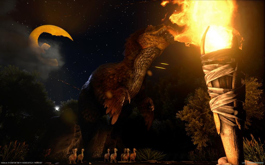 Ark Survival Evolved S Halloween Themed Update Fear