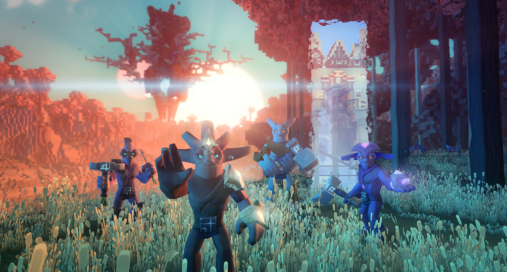Boundless Is A Cross Platform Open World Game For Ps4 And