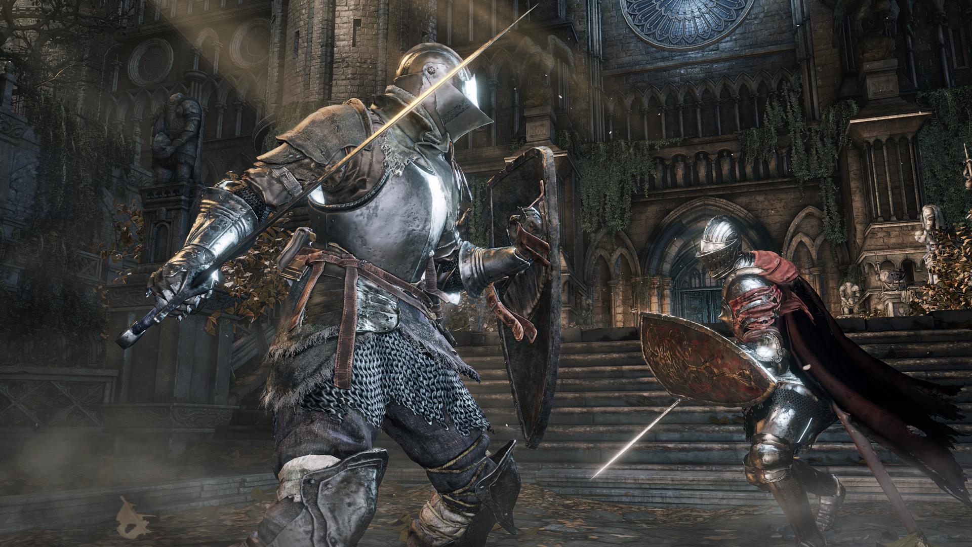 New Dark Souls 3 screens show co-op, spells, miracles ...