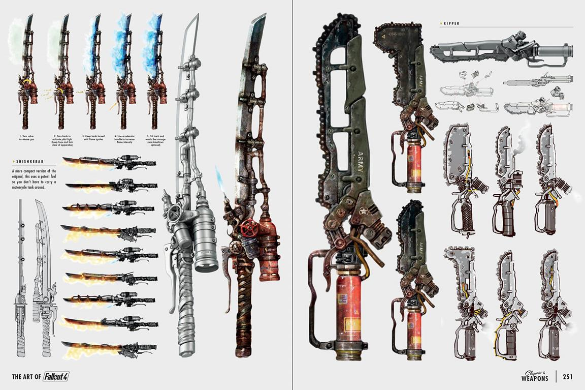 Fallout 4 Character Design Tips : Fallout new weapons mutants bots star in pages of