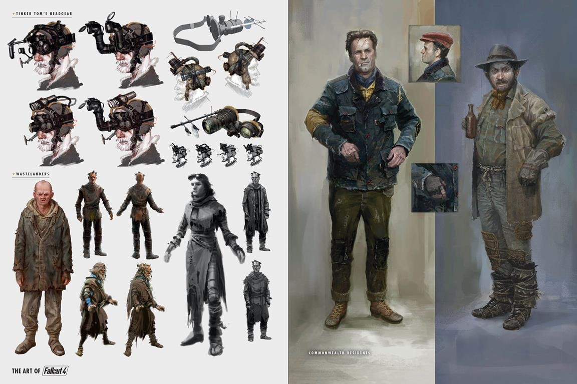 Fallout 4: New Weapons, Mutants, Bots Star In 30 Pages Of
