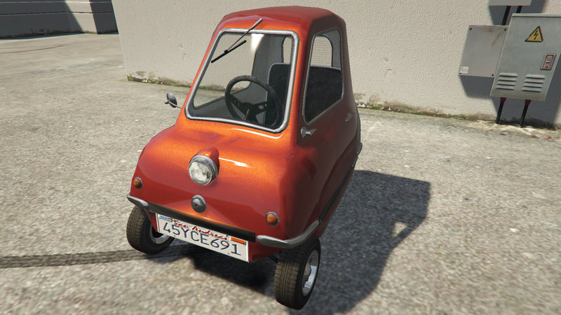This Gta 5 Mod Contains The Smallest Production Car Ever