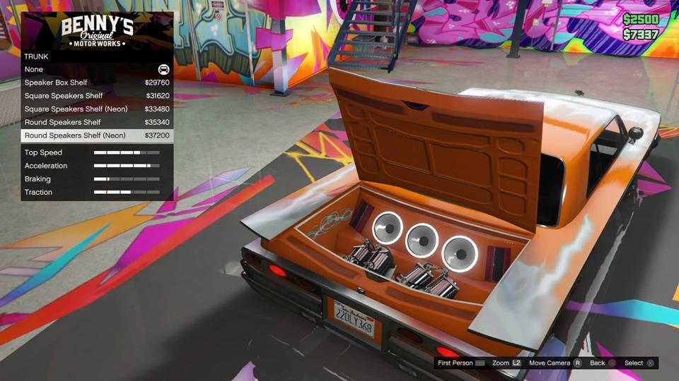 Lowrider Car Upgrade Cost For Gta  Online