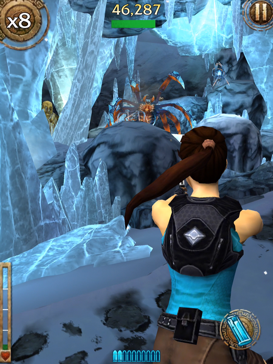 Lara Croft: Relic Run is popular - like 10M downloads ...