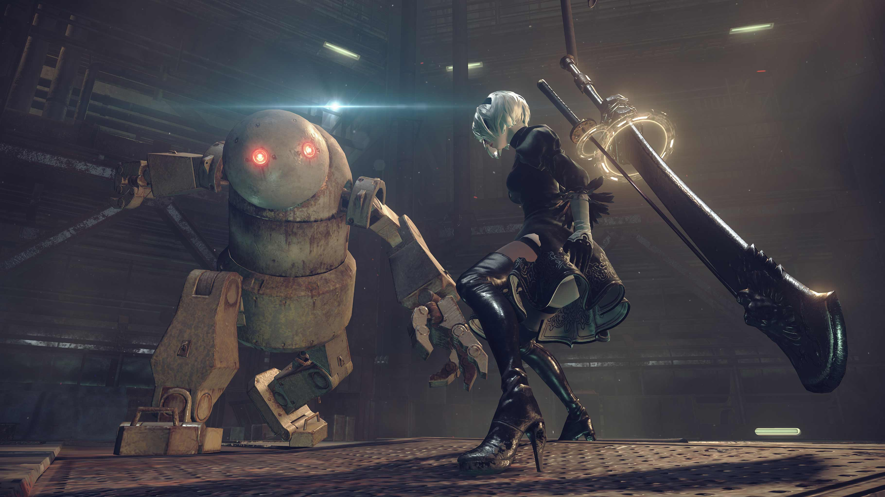 Here's your first look at Nier: Automata gameplay | VG247