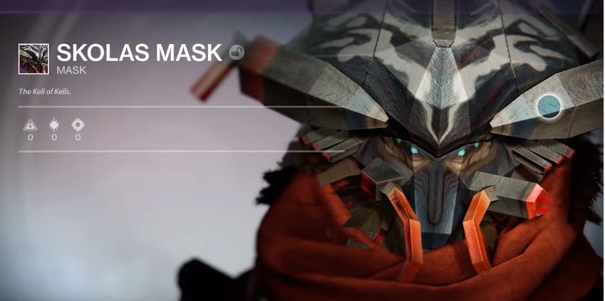 destiny 2 mask of the quiet one how to get
