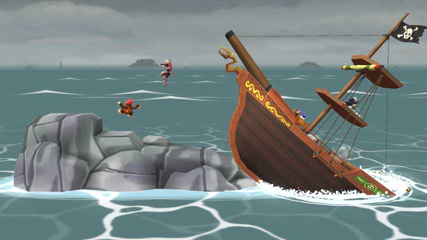 Super Smash Bros Wave Four Dlc Includes Mii Fighter Costumes Pirate Ship Stage Vg247