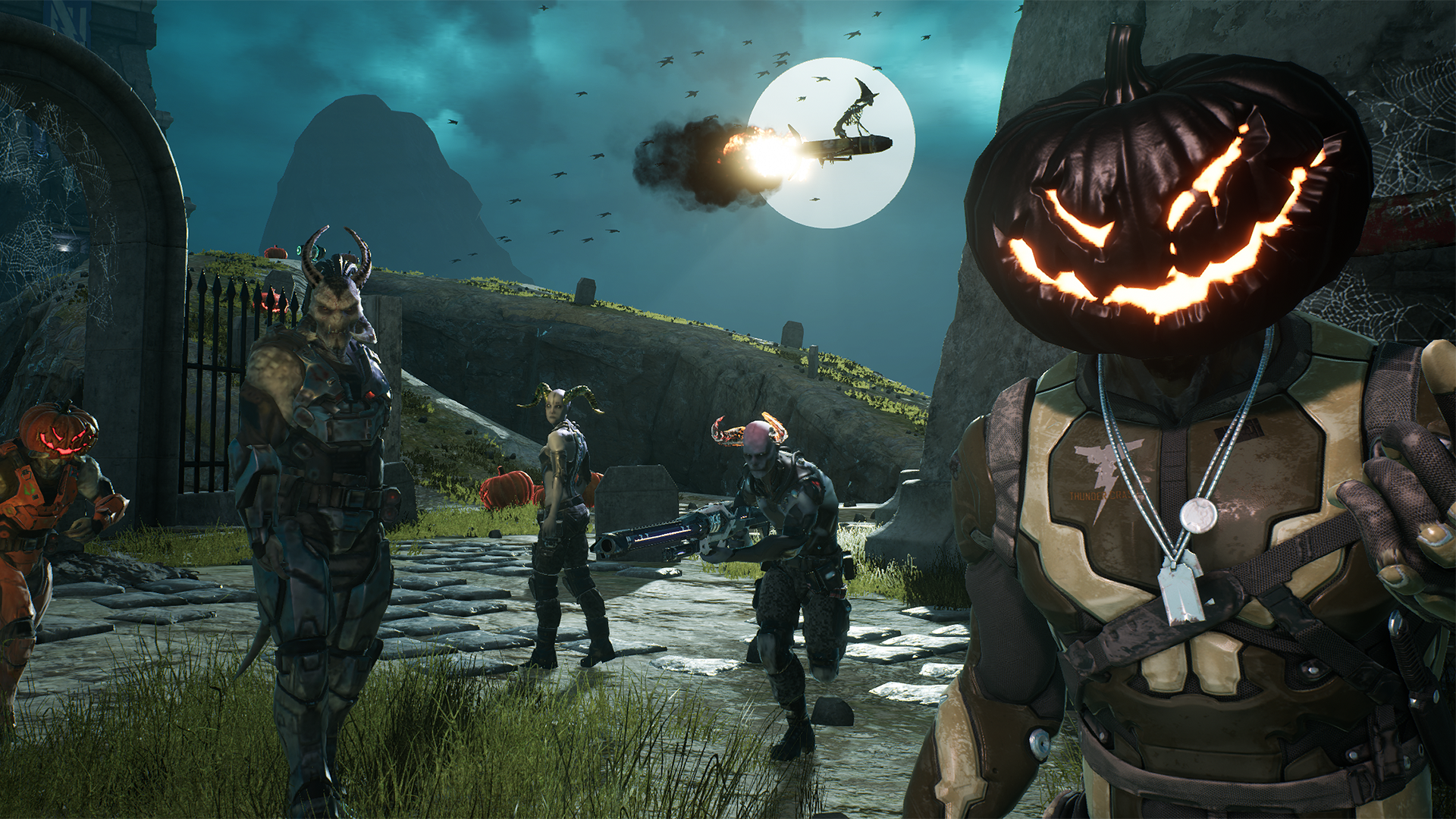 Halloween update added to Unreal Tournament pre-alpha - VG247