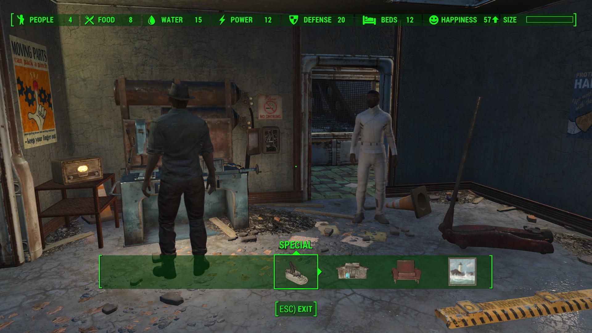 Fallout  Mod No More Building Limit