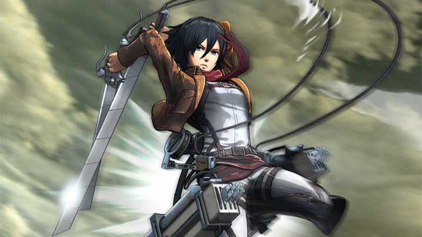 New Attack on Titan gameplay showcases the 3D Maneuver ...