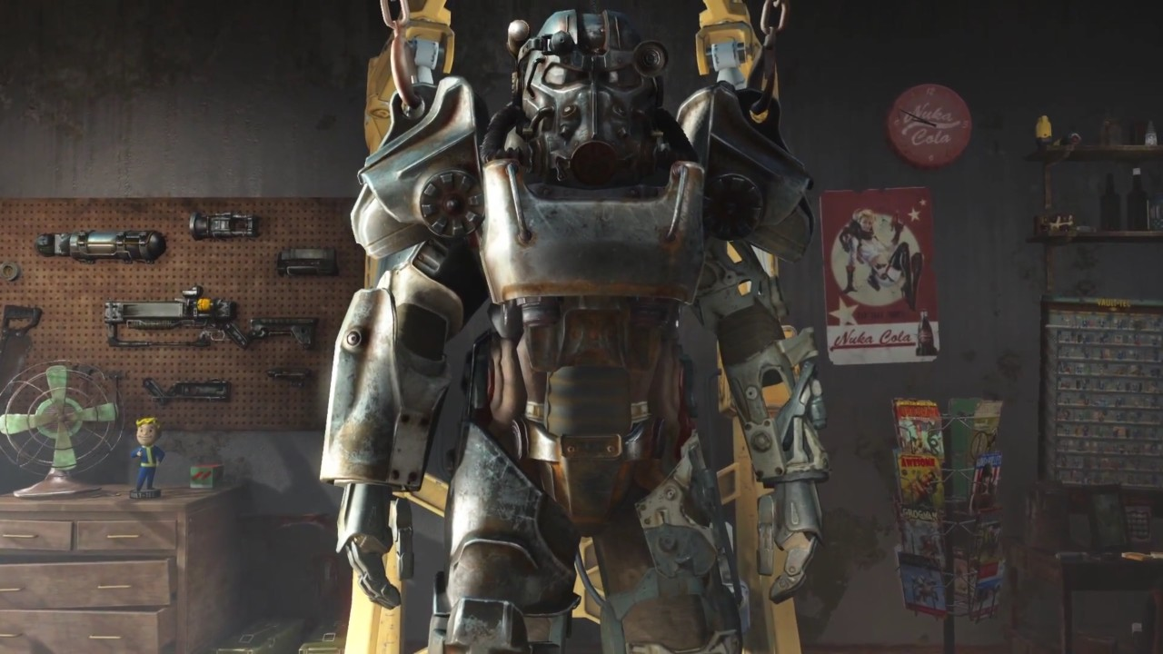 Someone Made A Map With The Locations Of All Power Armour Suits In Fallout 4 VG247