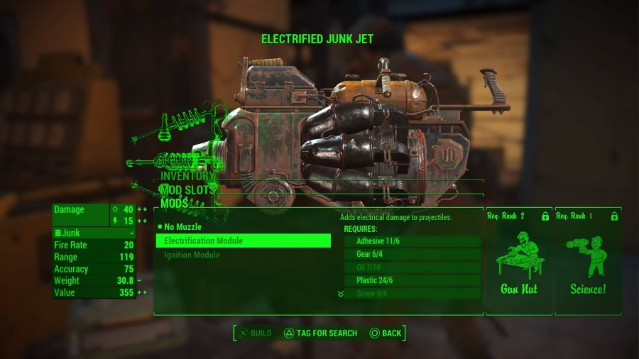 Fallout  Jet Crafting