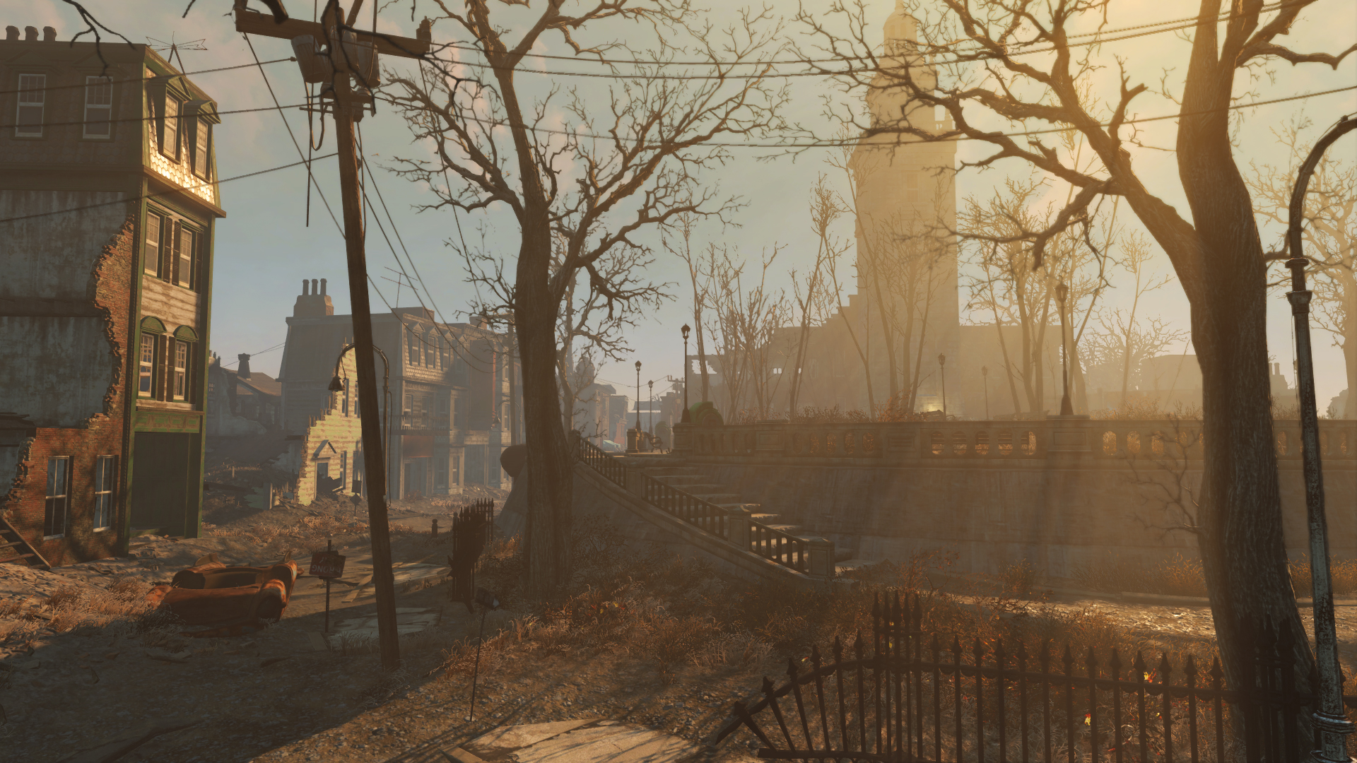 Fallout 4 how creation engine enhancements make the game for Fallout 4 bedroom ideas