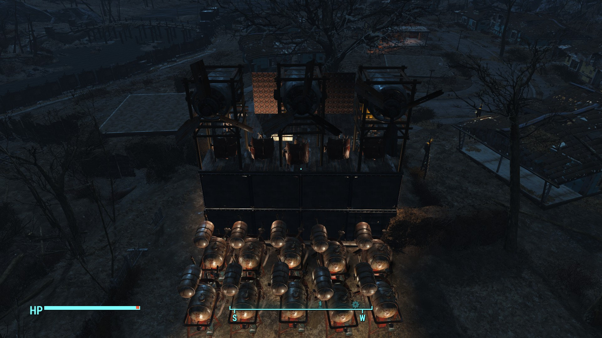 Fallout 4 Wall Light Not Working : Fallout 4 making an animated Space Invaders billboard VG247